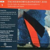 2011 р. – Концерт, присвячений 25-річниці Чорнобильскої катастрофи (Берлінська філармонія)